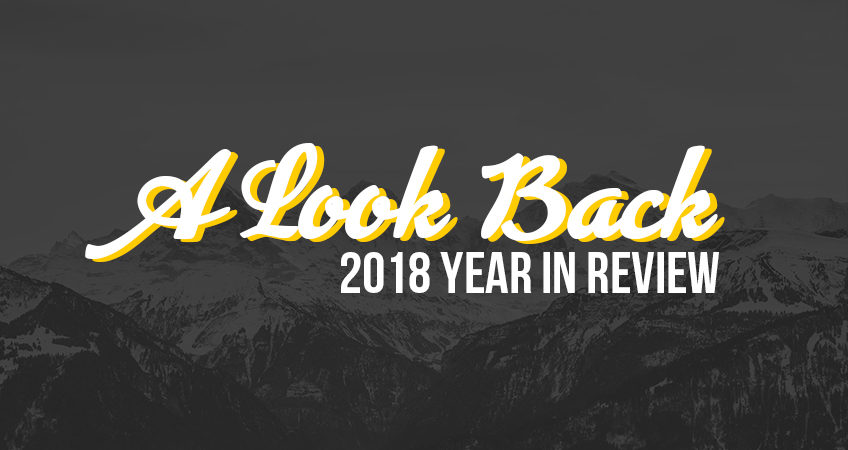A Look back - 2018 in review