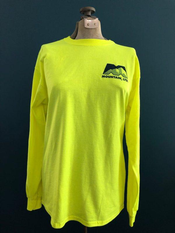 Safety Green Fielder's Long Sleeve Shirt