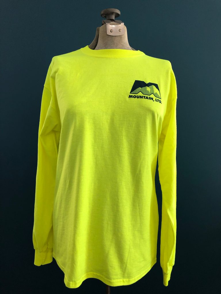 49fbbe29bc0a Online Shop. Safety Green Fielder's Long Sleeve Shirt