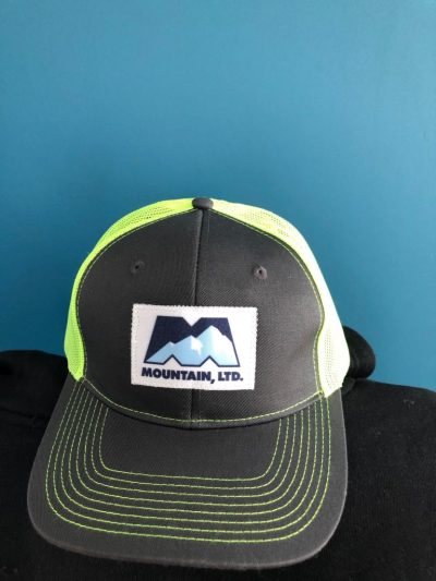 Safety Green Snap Back Hat