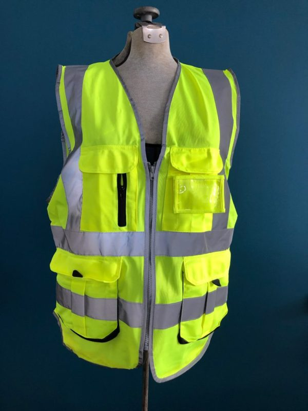 Safety Vest Back