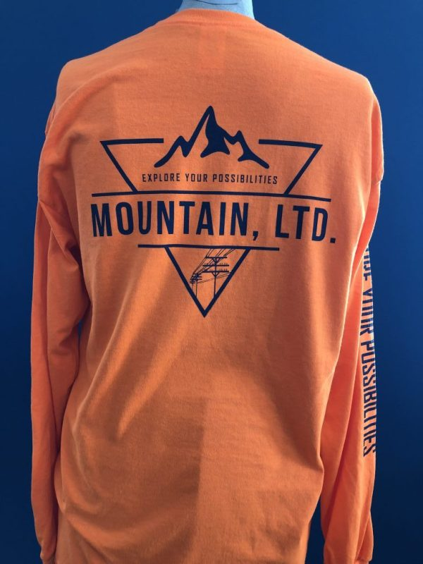 MOUNTAIN Orange Field Shirt