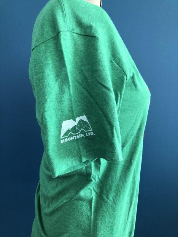 Mountain Green T-Shirt Sleeve