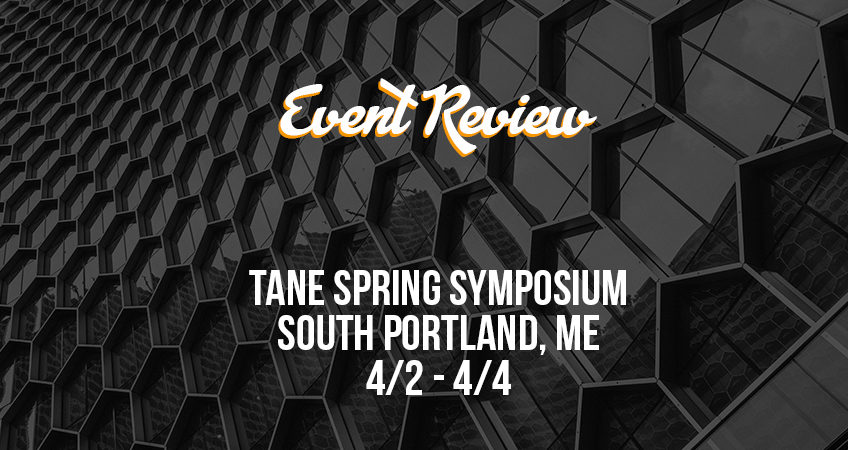 Event Review - TANE Spring Symposium 2019