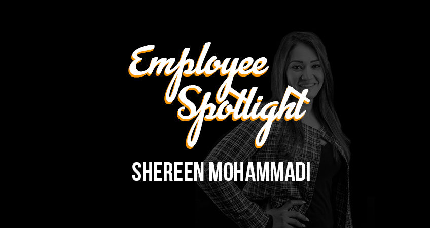 Employee Spotlight - Shereen Mohammadi