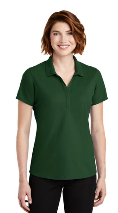 EzPerformance Ladies Front Forest Green