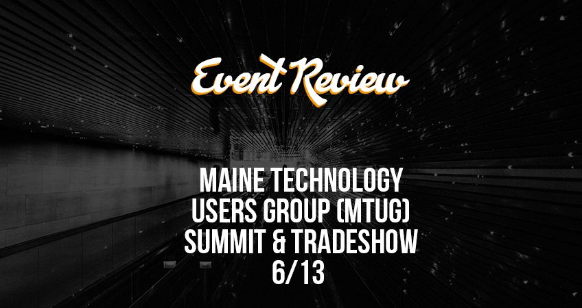 Event Review - MTUG Feature