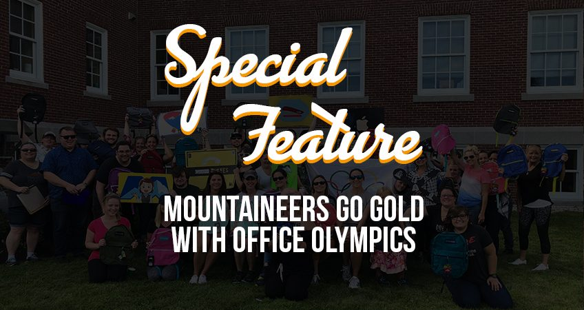 Special Feature - MOUNTAINeers Go Gold With Office Olympics