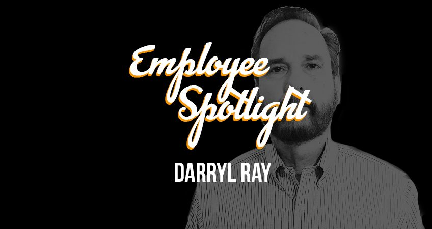 Employee Spotlight - Darryl Ray Header
