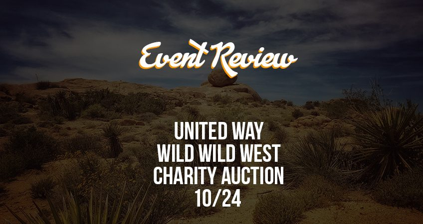 Event Review - United Way Cover