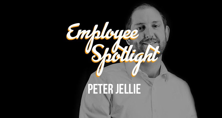 Employee Spotlight Banner - Peter Jellie