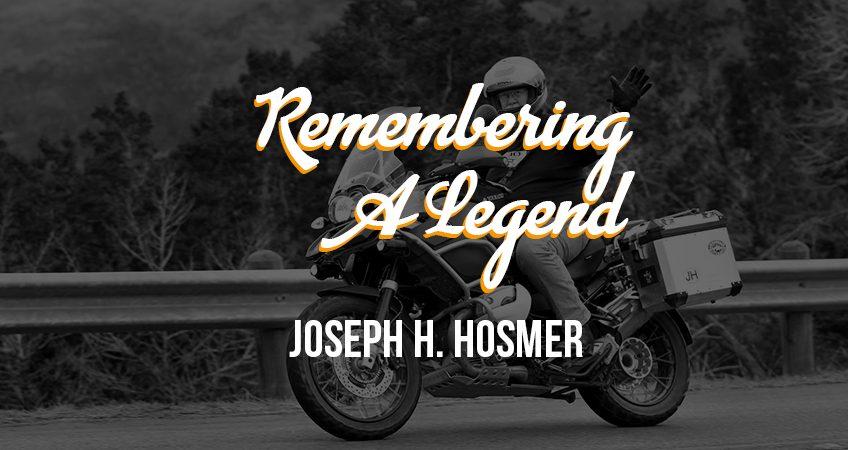 Remembering Joseph Hosmer Banner